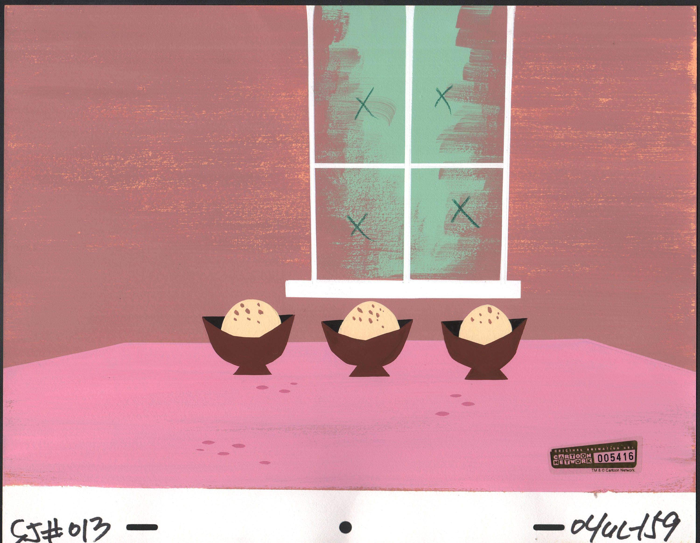 Samurai Jack Screen-used Production Background Art Cartoon