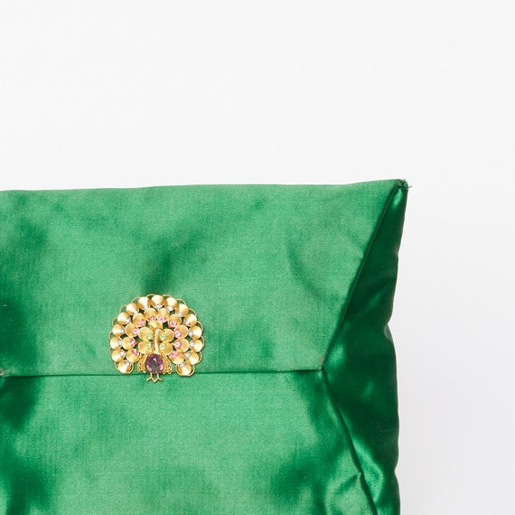 "Emerald Green ""Koret"" Clutch Bag"