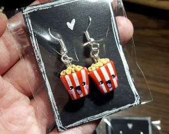 Popcorn Earrings (Made to Order)