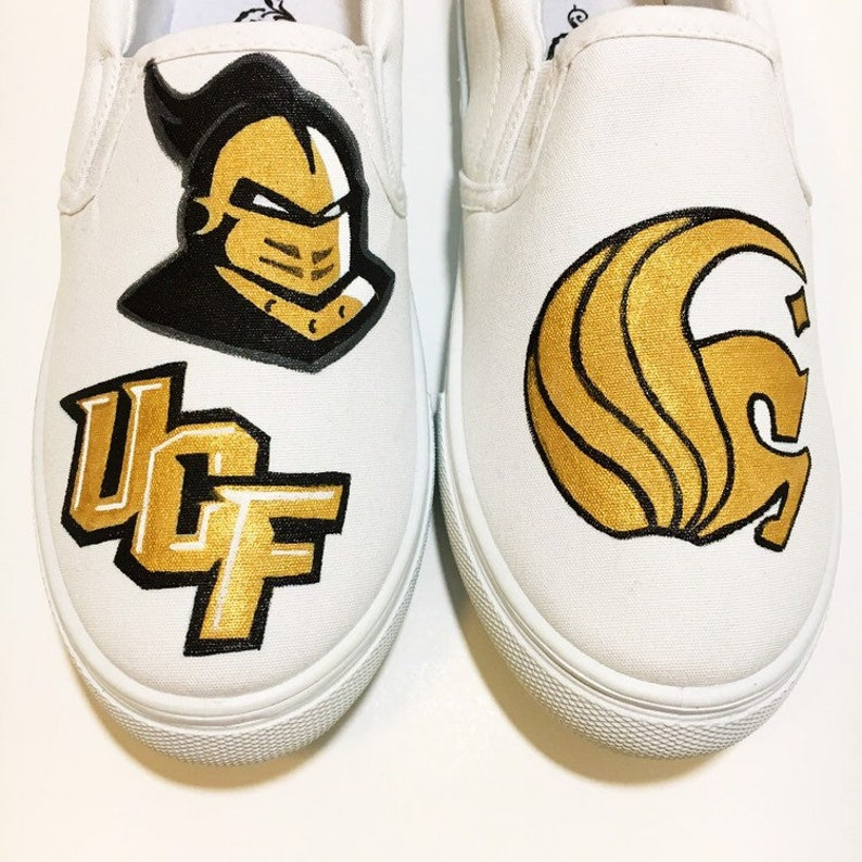 77b427b449cea UCF Custom Made college team shoes Hand painted shoes - made to order