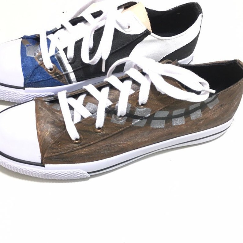 dc2557a44a241f Star Wars Custom Made shoes Hand painted Hans Solo and