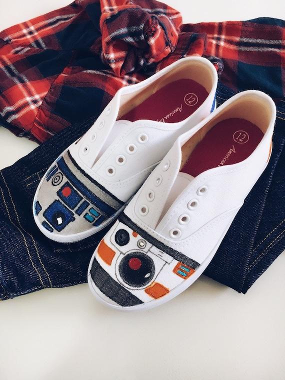 Kids Adults Star Wars Shoes Custom Made