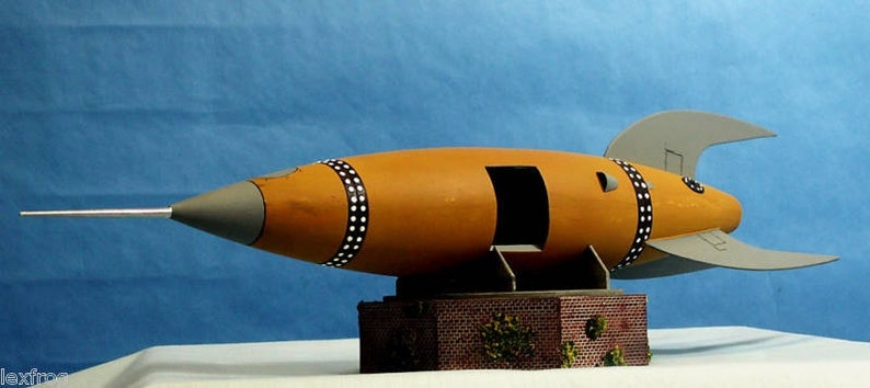 MYST Style Steampunk Space Rocket Ship Resin Model Kit with image 0