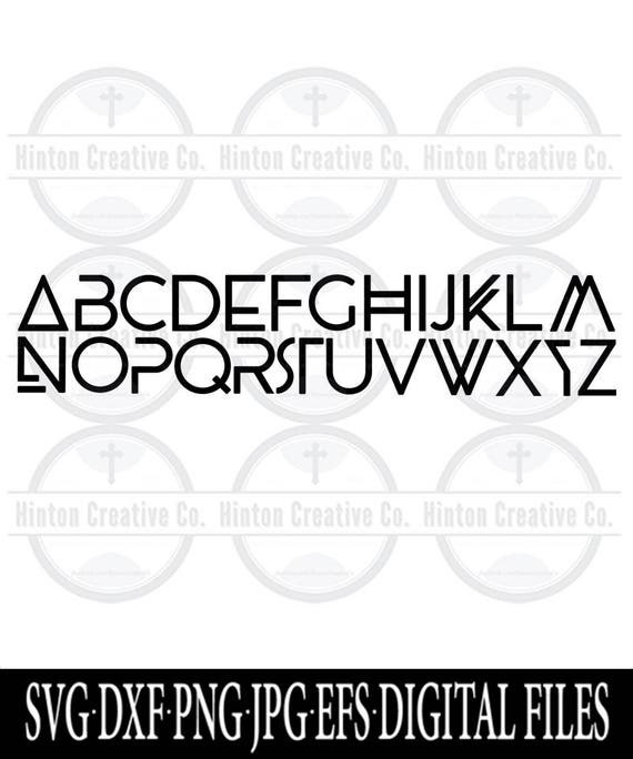 wakandan alphabet cut file print file svg circuit silhouette