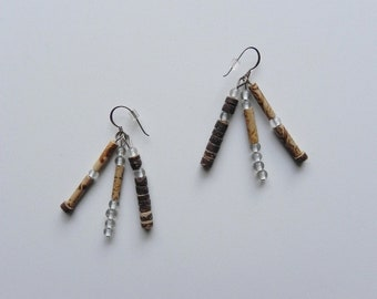 pretty natural ~ tribal earrings