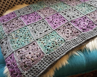 Free shipping!!  Georgeos handmade crochet bedspread - linen/silk bedspread