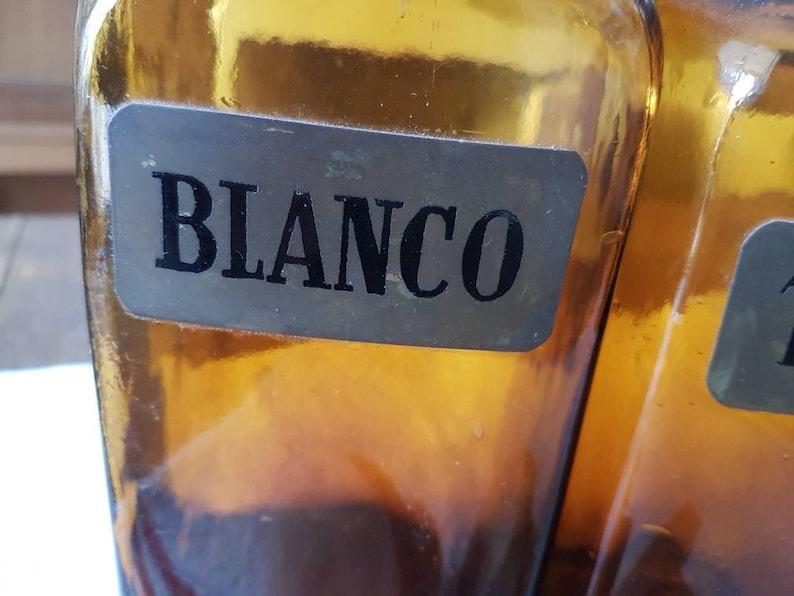 Italian retro wine set Retro glass wine bottle set