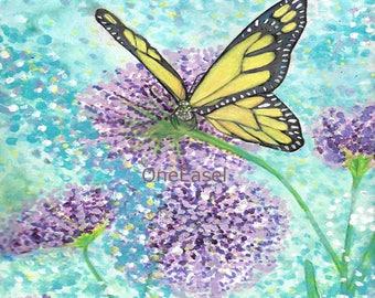 Summer Butterfly Photo Print