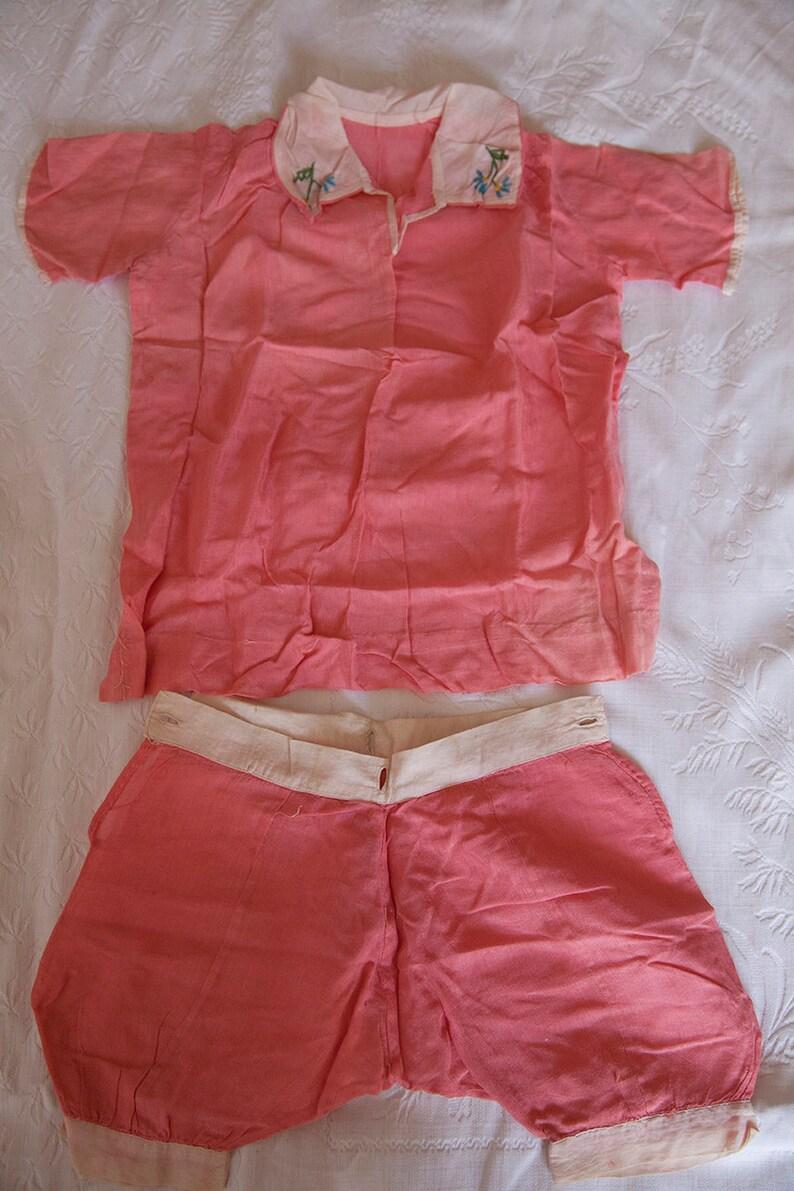 Rosy pink romper suit*