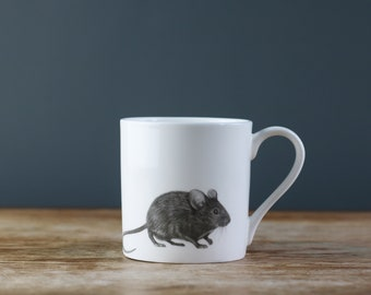The Wee Mouse Fine Bone China Cup