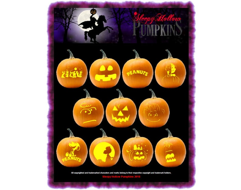 photograph regarding Peanuts Pumpkin Printable Carving Patterns identified as Peanuts Superior Pumpkin Carving Layouts - Printable PDF