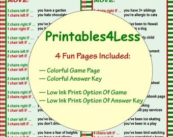 Fun Christmas Gift Game Games For Gift Exchange Gift | Etsy