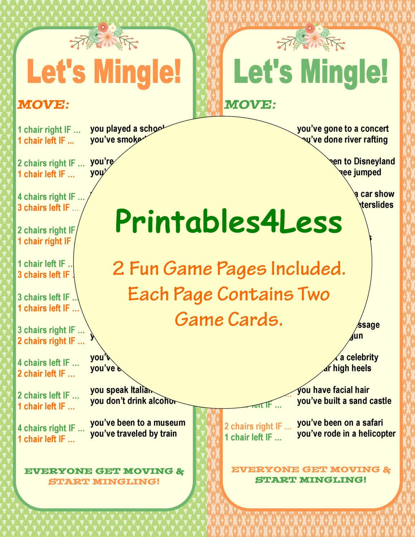 ice breaker game diy printable party game diy fun printable etsy