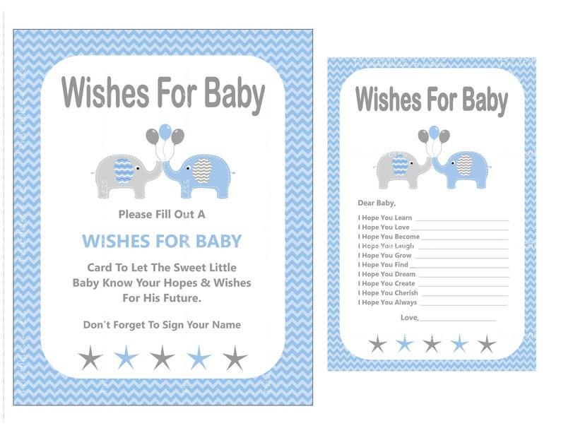 image relating to 5 Wishes Printable Version identify Blue Elephant Wants For Little one, Fresh Child Boy Needs, Printable Desire For Youngster, Kid Drive Card, Blue Chevron Needs - Printables 4 Considerably less 0012