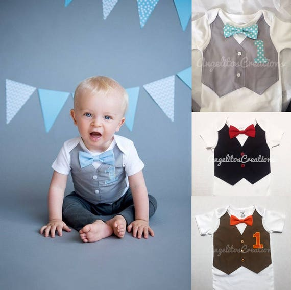 MY 1st BIRTHDAY BABY VEST design 6