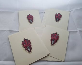 Krampus Cards
