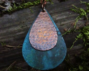 Copper Rain Necklace