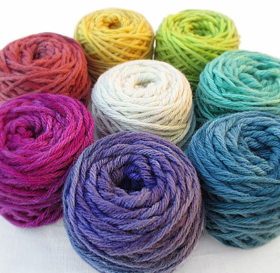 White Yellow Green Blue Holiday set* Pure Wool Top for Felting 9 Colours 90 g