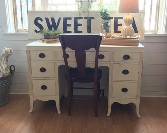 Items similar to SOLD - Vintage French Desk
