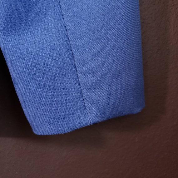 Vintage Women's Blue Suit Jacket from H Bar C Cal… - image 10