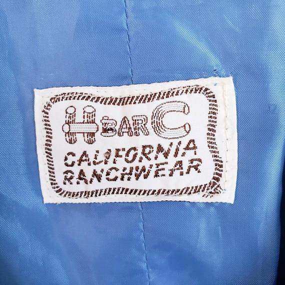 Vintage Women's Blue Suit Jacket from H Bar C Cal… - image 7