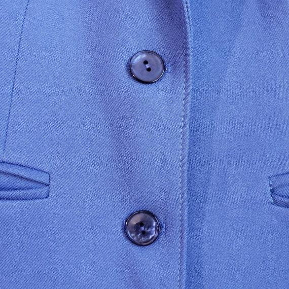 Vintage Women's Blue Suit Jacket from H Bar C Cal… - image 6