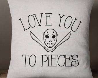 Jason Voorhees Mug Love You To Pieces Friday The Etsy
