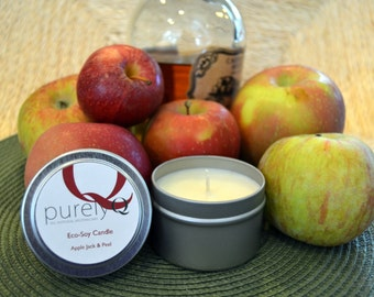 3 Scented Soy Candles - 4 oz each.