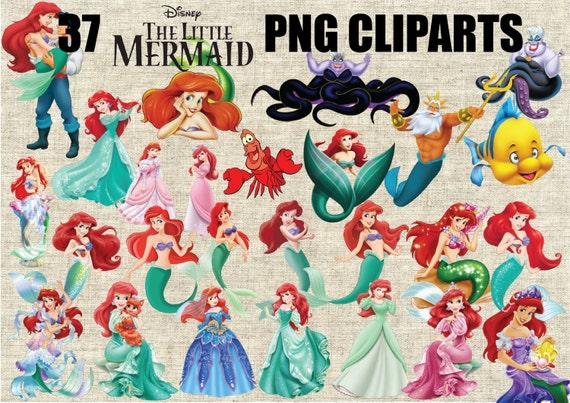 Costume Da Bagno Sirenetta Disney : La sirenetta ariel 37 immagini a 300 ppi png sfondo etsy