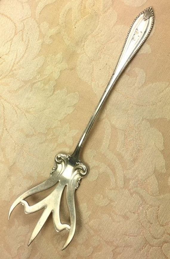 Sterling Lettuce Fork