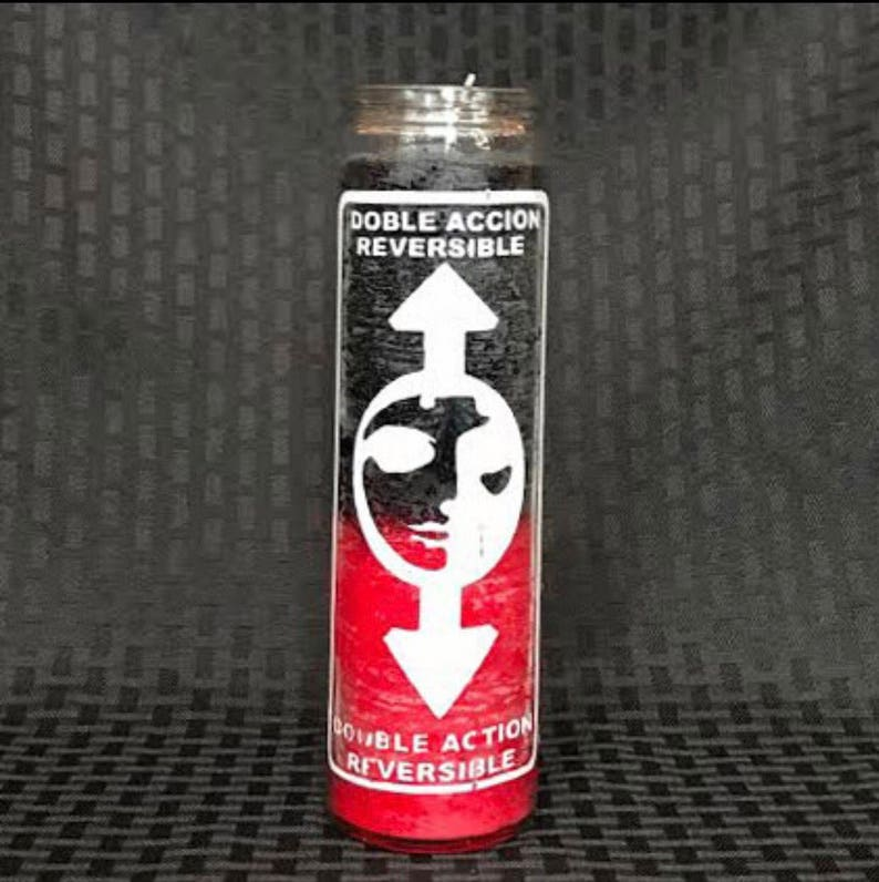 Double Action Reversible Fixed Conjure Candle