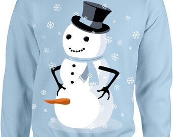 dirty snowman ugly christmas sweater - Dirty Ugly Christmas Sweater