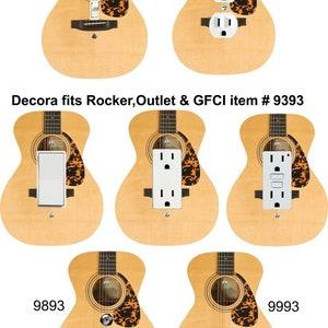 Guitars Light Switch Cover  Fender Guitar  Guitar Nursery Decor  Man Cave Decor Guitar Man Cave  Band Teacher Gift  Stocking Stuffer