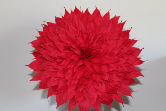 X large mexican paper flower red 13 diameter we etsy image 0 mightylinksfo