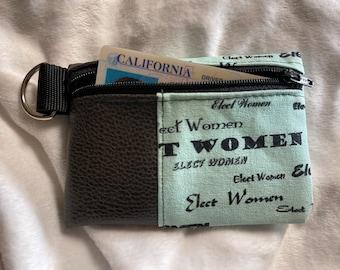 Elect Women zipper pouch