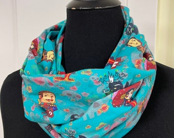 Book Of Life Infinity Scarf