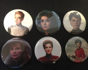 Women of Star Trek Magnet set