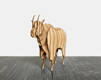 Cardboard Animal Goat