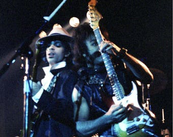 Prince with Dez Dickerson Concert Photograph '82 First Avenue Nightclub Minneapolis Controversy Tour