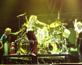 "Van Halen Photograph 5 x 7"" Original Print 1979 St. Paul Civic Center"