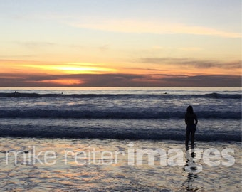 Carlsbad Pacific Ocean Photograph Art Print or Greeting Card Set California