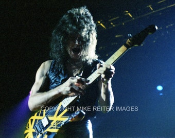 Eddie Van Halen Photograph Original Print 1979 St. Paul Civic Center