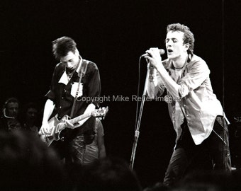 Joe Strummer & Mick Jones of The Clash Photograph Print 1979 Punk Rock Legends