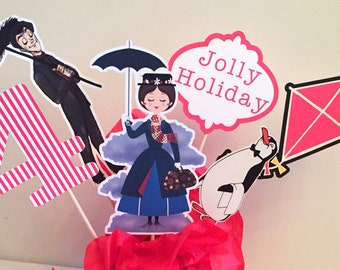 Mary Poppins Party Decorations Etsy