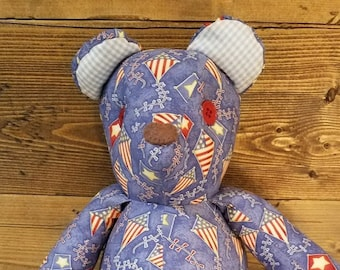 July 4th teddy bear