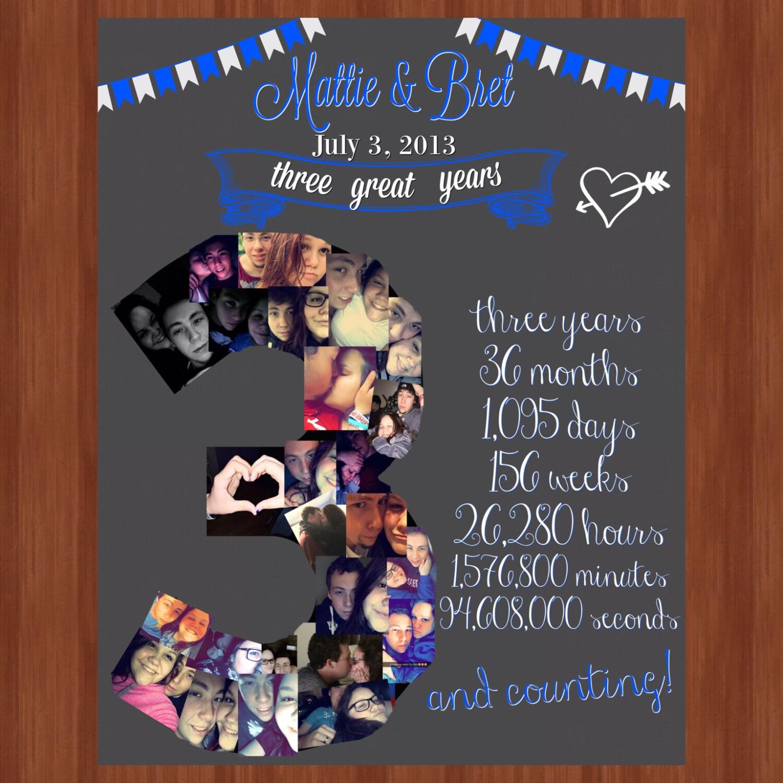Three Year Wedding Anniversary File Wedding Anniversary