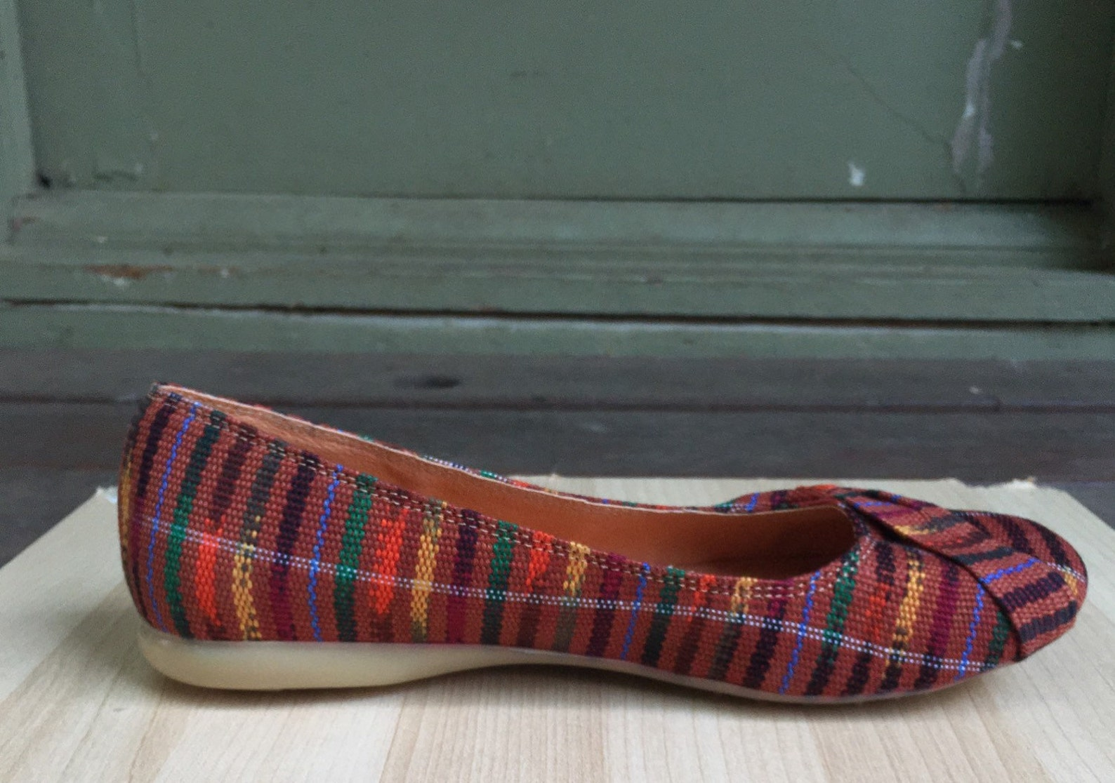 brown tones, guatemalan textiles, mayan, slip on, flat shoes, ballet flats, handmade, handwoven