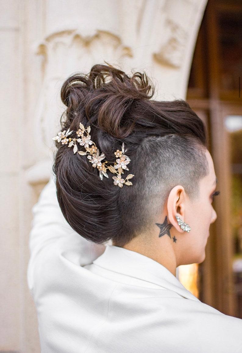 Bridal Hair Piece Bridal Hair Accessories Hair Jewelry image 0