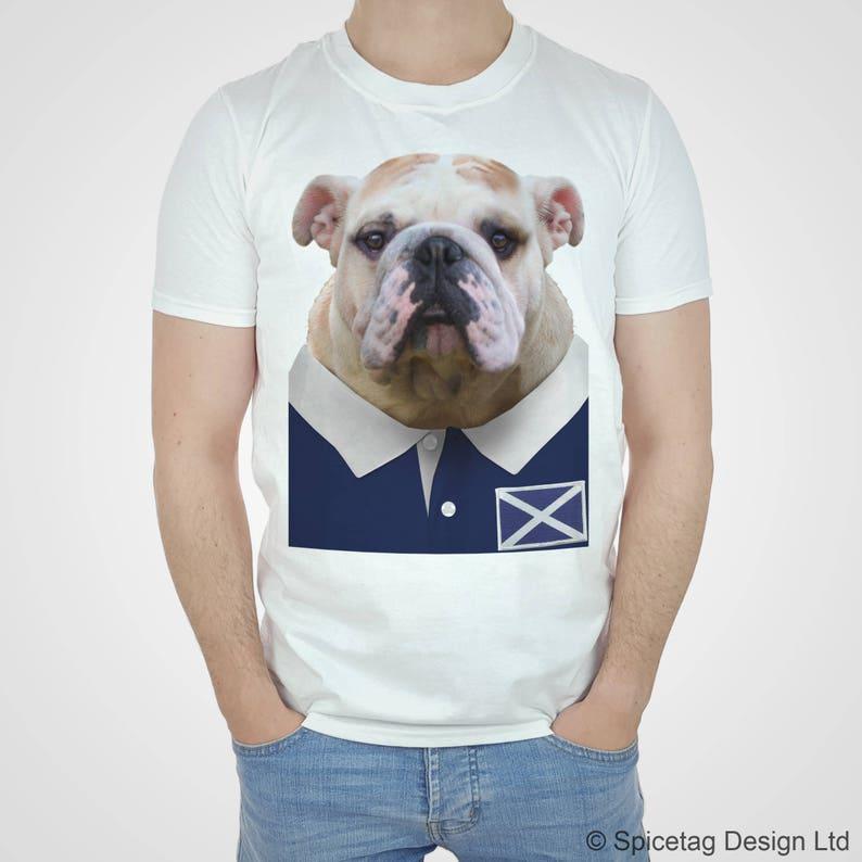 Bull Dog Union Jack Sizes Small to XXXL BRITISH BULLDOG T-SHIRT