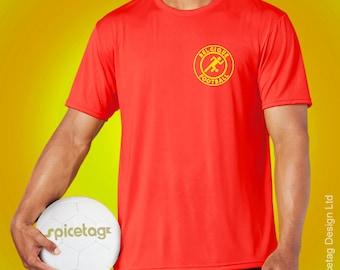 Belgium Retro Sport T-shirt Belgian Stick Man Football World Soccer T Shirt